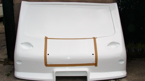 CPS-COM-304 FRONT PANEL AND LOCKER LID